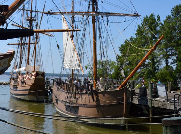 Old ships in Virginia