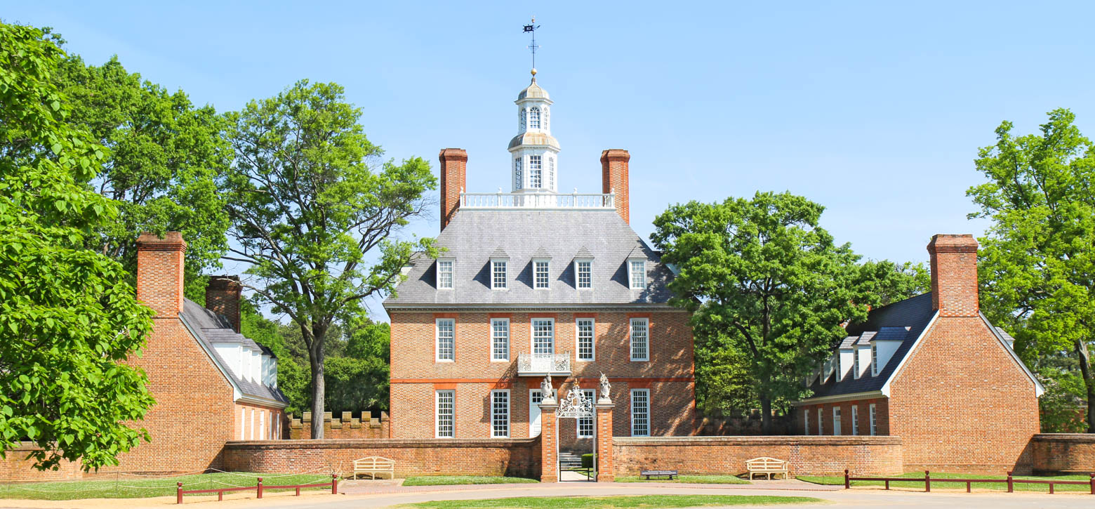 Old home in Colonial Williamsburg