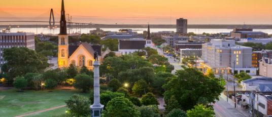 Charleston, South Carolina downtown city