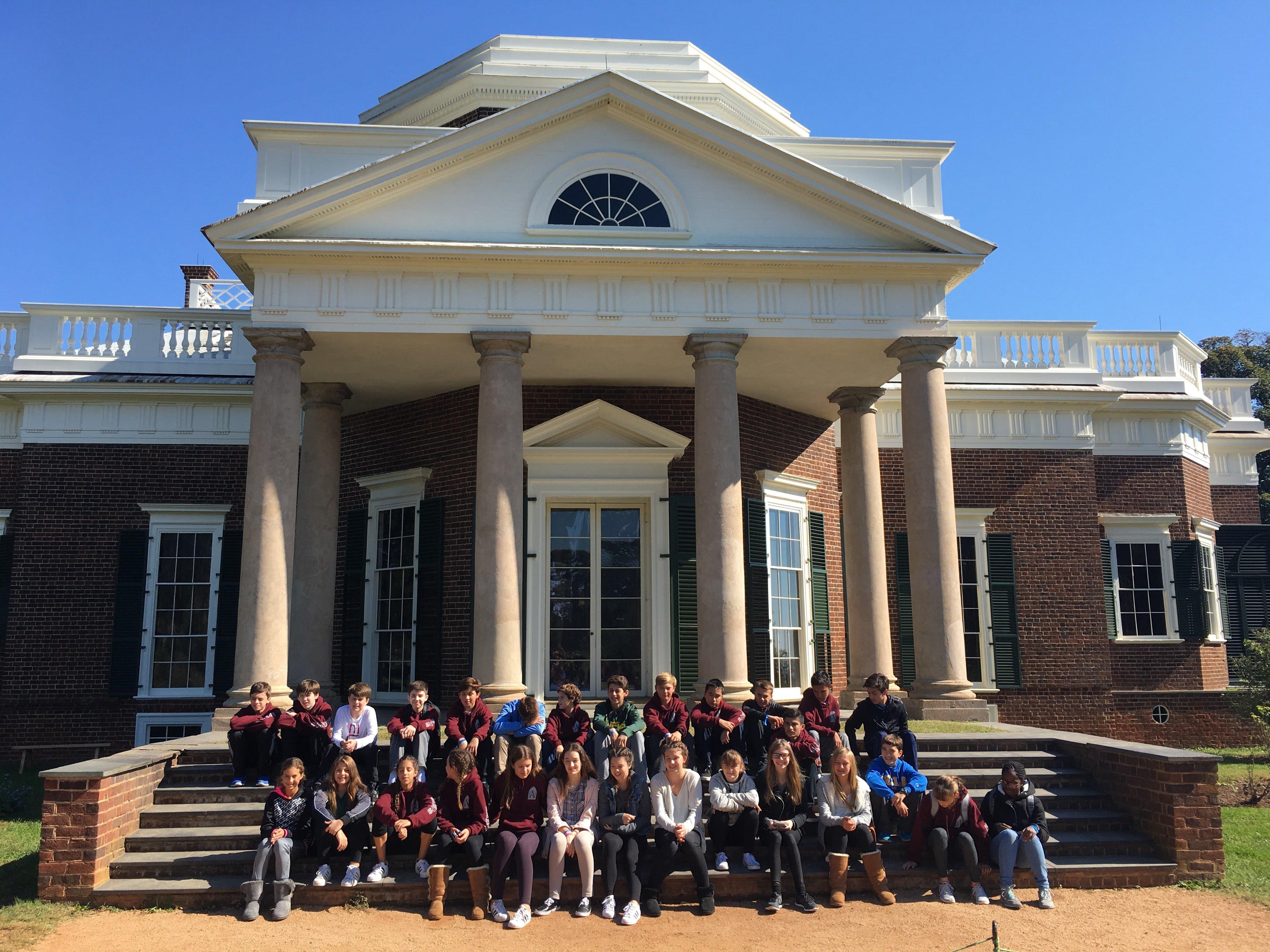 Monticello School Trip