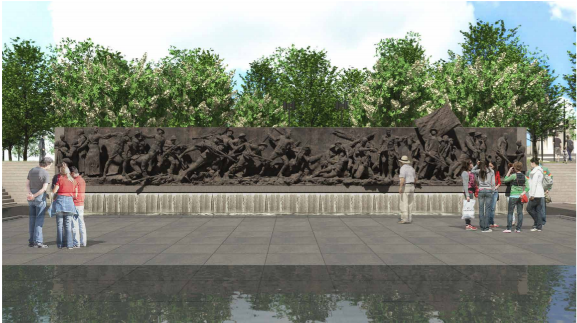 WW1 Memorial A Soldier's Journey Concept