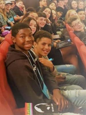Students at Broadway