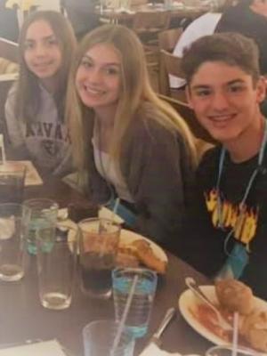 Students Eating Dinner