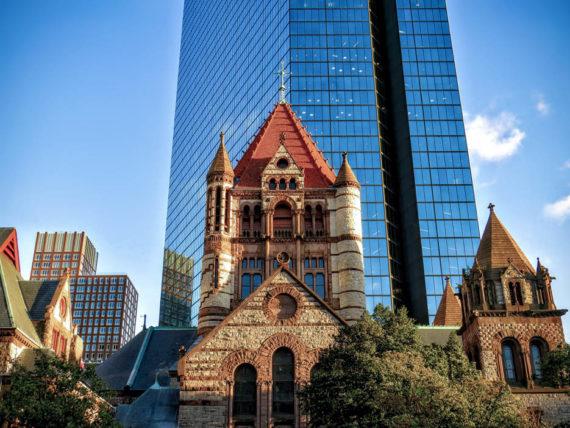 Old church in Boston