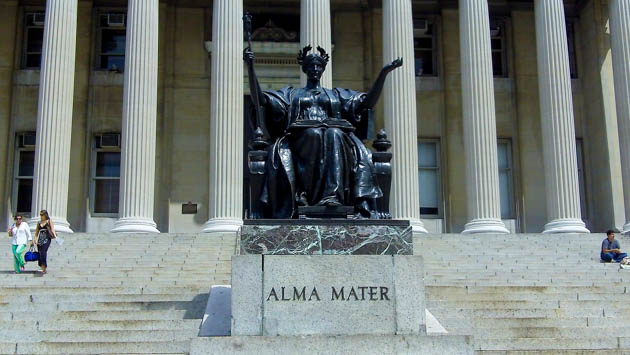 Columbia University Alma Mater statue