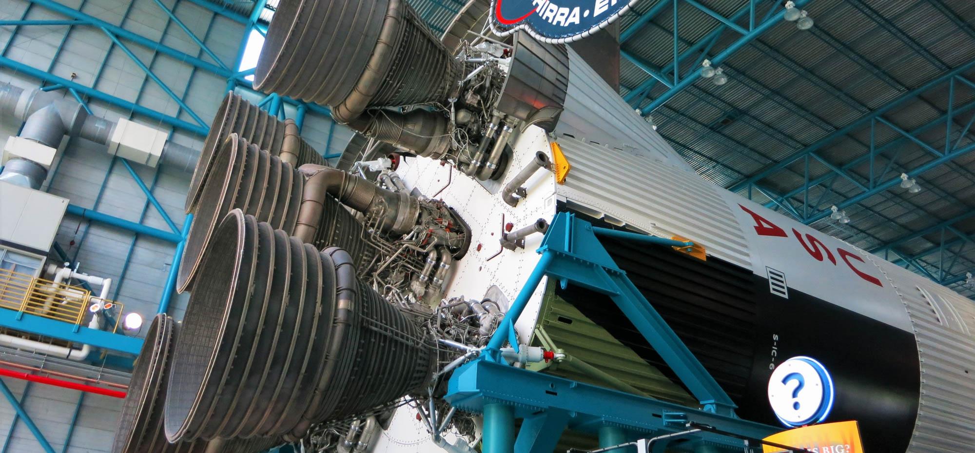 Rocket at Nasa museum