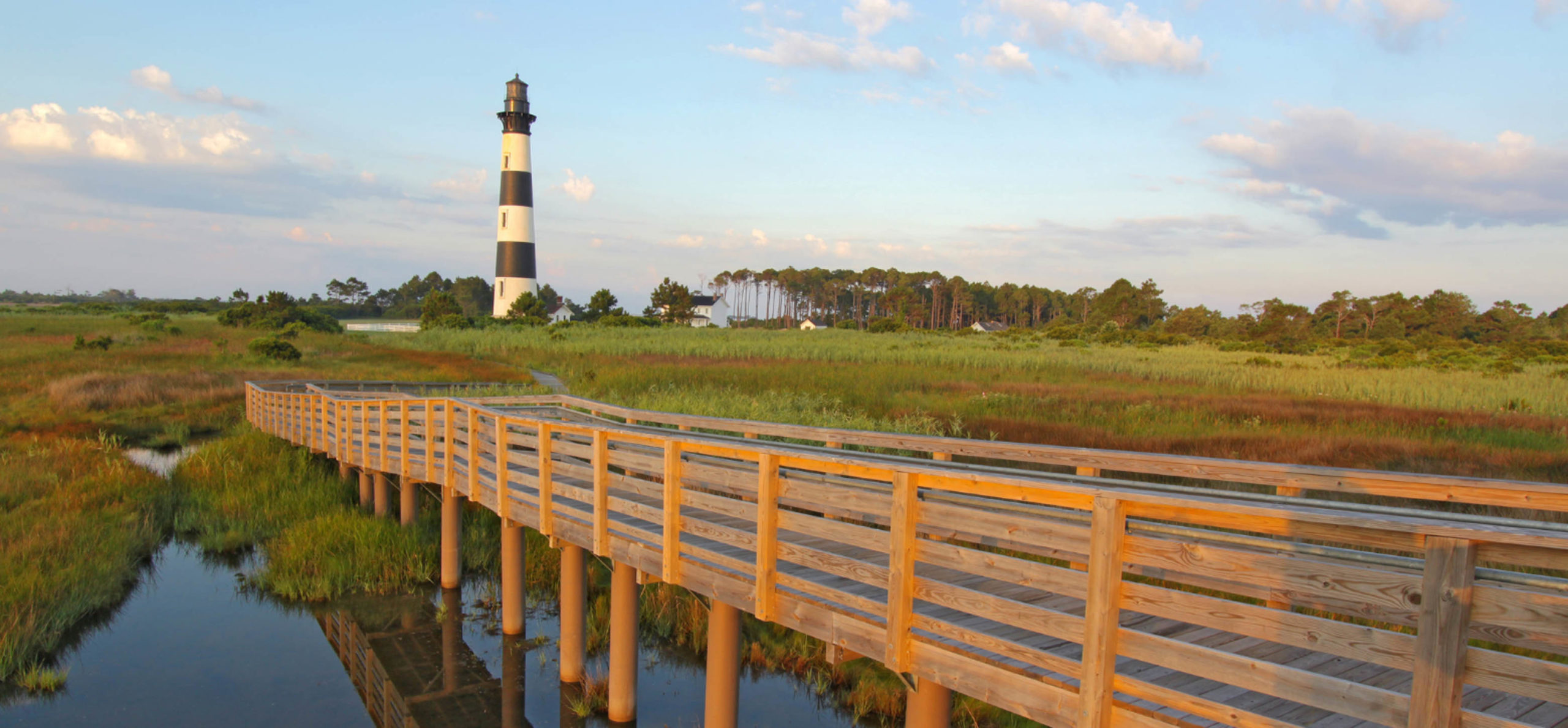 North Carolina dock and Light House