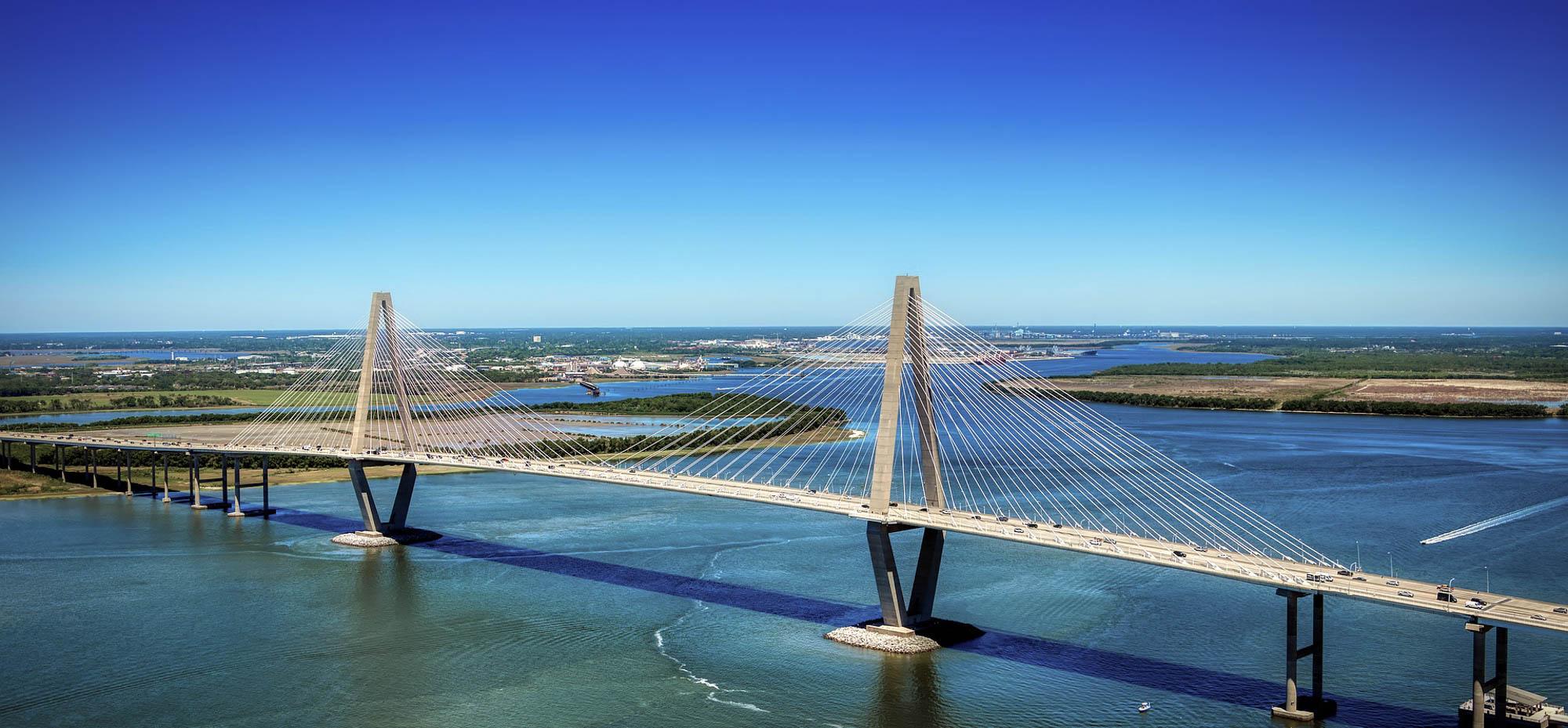 Ravenel Bridge in South Carolina