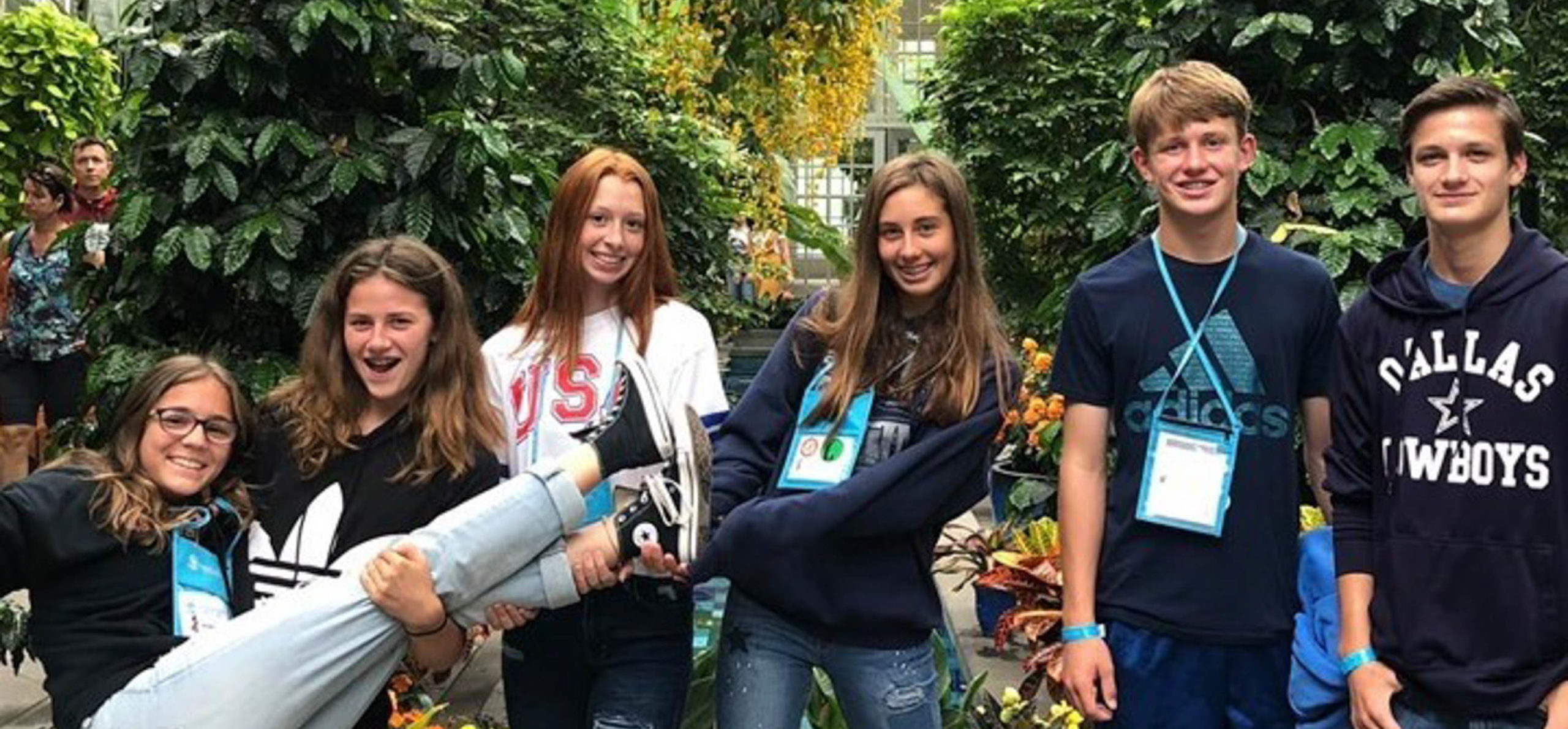 Group of students on tour